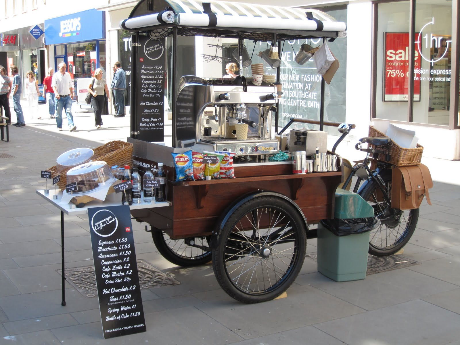 The way the Coffee Cart Business Works