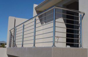 industrial balustrade design Australian standard